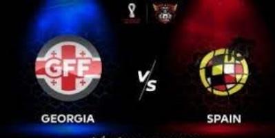 จอร์เจีย vs สเปน