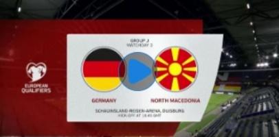 เยอรมัน Vs มาซิโดเนียเหนือ